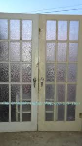 antique french doors rare vintage glass