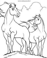 Spirit Cavallo Selvaggio Da Colorare Az Colorare