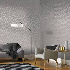 Archetype Gray and Rose Gold Wallpaper ...