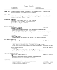 10+ Resume Objective Examples | Sample Templates