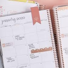 Monthly Calendar Notebook Planners Notebooks Journals And Stationery Erin Condren