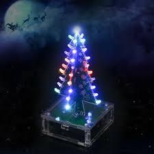 <b>DIY</b> Kits <b>Colorful Light</b> Electronic <b>Christmas Tree</b> with Music LED ...