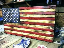 wooden american flag wall art wooden flag wall hanging outdoor flag wall decor ensign wall art wooden american flag wall art