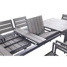 Ensemble table chaise de jardin fauteuil salon de jardin | Africaculture