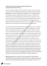 discovery essay year hsc english advanced thinkswap discovery essay