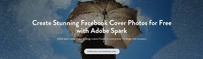 facebook covers free adobe spark s free online facebook cover maker helps you create