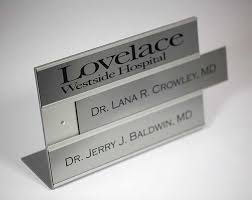 interchangeable office signs doctor s signs