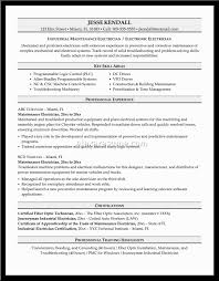 Electrician Resume Oil Rigs Sales Electrician Lewesmr