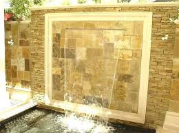 diy indoor water fountain wall stone feature waterfall artificial fountains kids room magnificent fountai