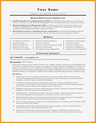 Free Cv Template Word Fraîche Resume Template Information Technology