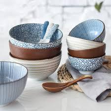 <b>NIMITIME Ceramic</b> High Quality Rice Spoon And Bowls Big Noodle ...