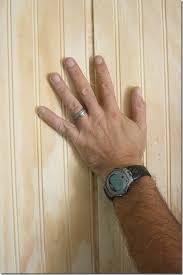hanging bead board walls