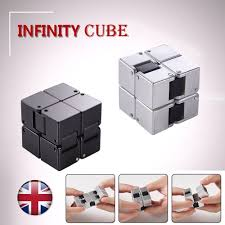 infinity cube. mini infinity cube stress relief fidget anti anxiety edc add magic puzzle toy uk | ebay