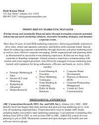 sample resume marketing marketing manager resume marketing resume sample pdf doc
