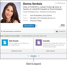 showcasing organizations in your linkedin profile dummies linkedinprofile view more