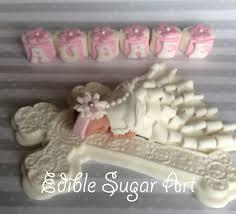 Christening Cake Topper Christening Gown Baptism Cupcake Topper