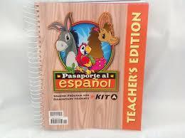 Bob Jones Pasaporte Al Espanol Kit A Teachers Ed Elem