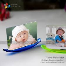 blue 5inch boat shaped colorful picture frames