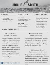 Great Resume Examples 2017 Resume