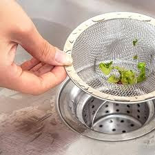 sink strainer stopper kitchen bathroom stainless steel bathtub hair catcher stopper shower drain hole filter trap sink strainer stopper