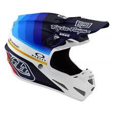 Troy Lee Design Troy Lee Designs Se4 Carbon Helmet Mirage Navy White