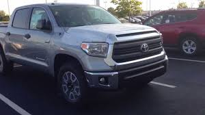 New 2014 Toyota Tundra SR5 TRD Offroad package walk around - YouTube
