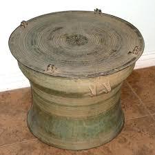 rain drum a southeast bronze rain drum rain drum coffee table . rain drum  ...