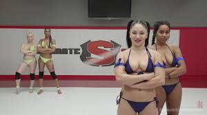Naked nude lesbian wrestling free online