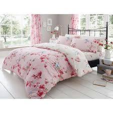 bir blossom duvet cover pink
