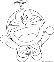 Download doraemon coloring pages high definition free images for your pc or personal media storage. Flying Doraemon Cartoon S4b37 Coloring Pages Printable