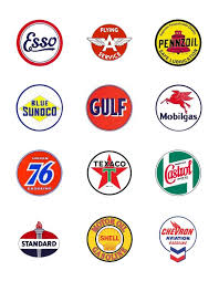 Gas Station Logo Oil Company Logos Figured I D Gather A Few Vintage Gas And Oil