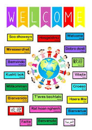Welcome Chart Images Welcome Charts Worksheets Teaching Resources Tpt