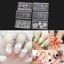 Decorative Nail Art Designs Diy 100d Silicone Nail Art Decorations Acrylic Cabochon Design Mold 40