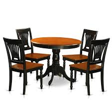 East West Furniture Antique 5 Piece Kitchen Table Set Small