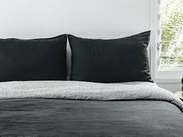 Charcoal Gray Duvet Cover King Charcoal Gray Duvet Covers Charcoal ... & Charcoal Duvet Cover Full Queen Ultra Luxurious 100 Pure French Double  Sided Linen Quilt Cover In Adamdwight.com