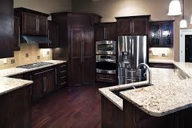 kitchen dark cabinets and light countertops really like dark kitchen cabinets with light granite countertops