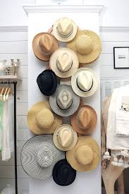 unlimited options for storing and organizing hats 18 hat organizing ideas for summer