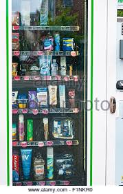 Toiletry Stocked Vending Machines Blink Amazing Vending Machine With Toiletries And Essential Items Outside A Stock