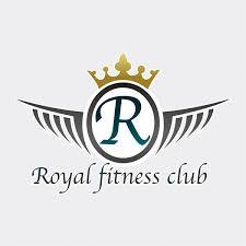 royal fitness club logo