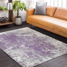 outstanding williston forge candelaria abstract medium graydark purple area rug pertaining to purple and gray area rugs attractive