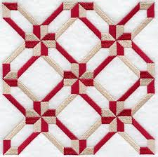 Machine Embroidery Designs at Embroidery Library! - Embroidery Library & Friendship Cross Quilt Block - 4 Block Lg Adamdwight.com