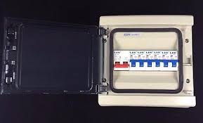 vconsumer unit fuse box 6 mcb circuit breakers 100a isolator shed Shed Fuse Box vconsumer unit fuse box 6 mcb circuit breakers 100a isolator shed garage caravan 2 \u2022 £ shed fuse box wiring diagram