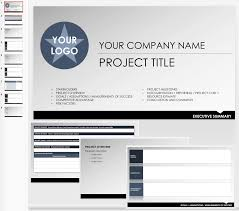 Free Executive Summary Templates Smartsheet Project Template