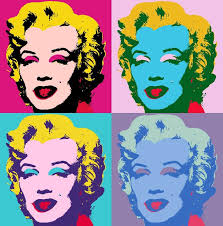 is it us or is it society miss monroe andy warhol