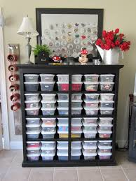 simple diy wood kids craft storage ideas painted with black color without dooor and white small plastic box ideas
