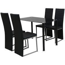 Vidaxl Essgruppe Sitzgruppe Esstisch 4 Sitzgarnitur Tisch