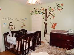 Newborn Bedroom Furniture The Twins Baby Room Babies Pinterest Trees Twin Nurseries