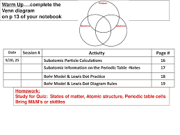 Venn Diagram Mass And Weight Warm Up Complete The Venn Diagram On P 13 Of Your Notebook Activity