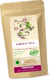 Pramsh Traders Green Tea With Diet Exercise Chart For