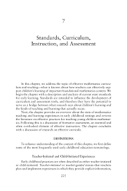 standards curriculum instruction and assessment mathematics  page 225